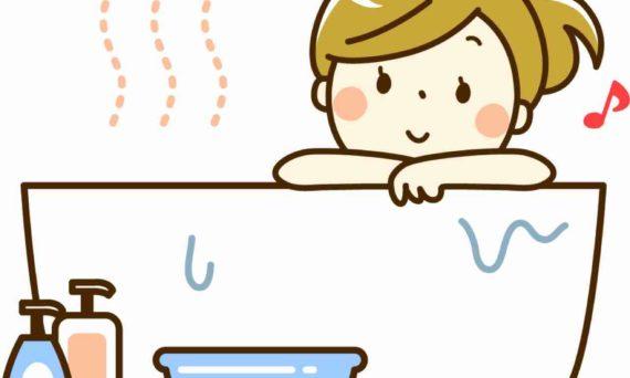 長風呂,温活,薄毛対策